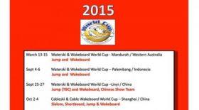 2015 IWWF WORLD CUP カレンダー