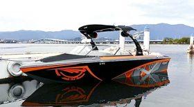 5月26日(金)~28日(日)開催のウェイクシリーズ第1戦・琵琶湖大会の曳航艇がTige Z1に決定!